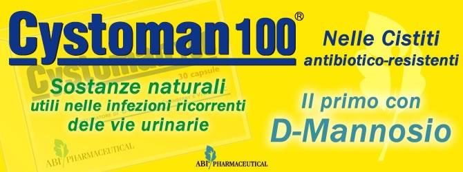 Cystoman 100 rimedio naturale per le Cistiti